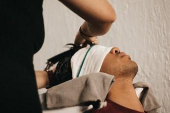Scalp massage?