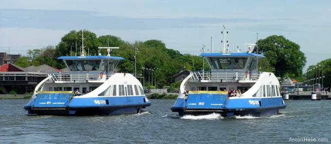 Ferries, Amsterdam