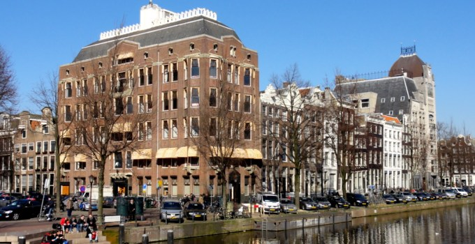 Keizersgracht, Amsterdam, as seen from the Raadhuisstraat
