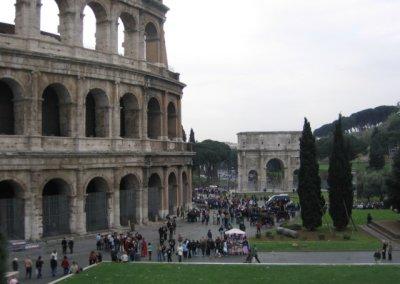 Koloseum i Łuk Konstantyna