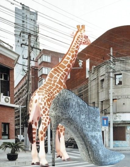 Urban Fairytale: The backside (2015), 40x30cm