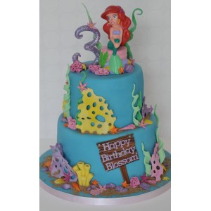 Bodacious All Occasions Girls Birthday Cakes Walmart Ideas Little Mermaid Ariel