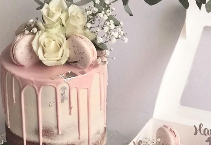 18th Birthday Cake Luxury Drip Cakes Antonias Cake Shop Merseyside