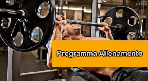 Programma allenamento