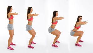 esercizi per dimagrire a casa lo squat