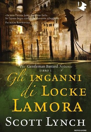 Copertina Gli inganni di Locke Lamora