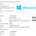 Windows 8 OEM Info