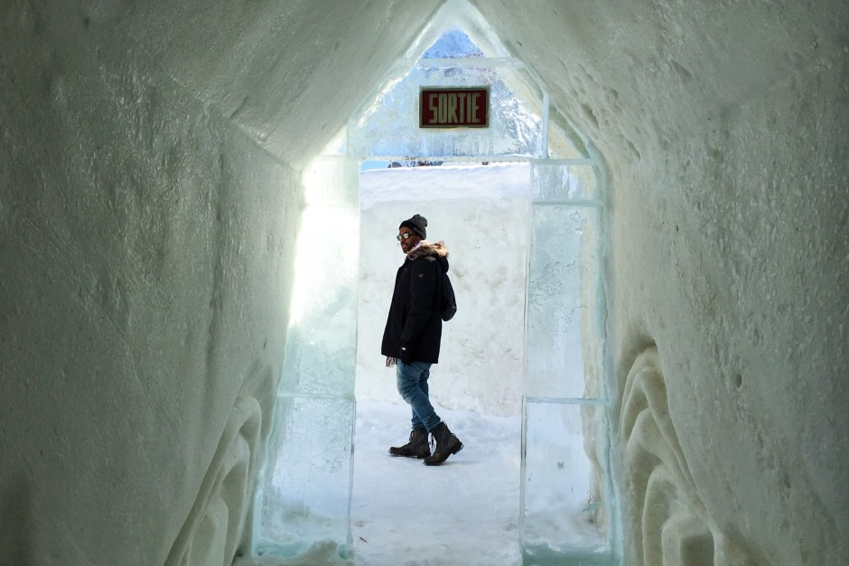 ice hotel , north america, Quebec City