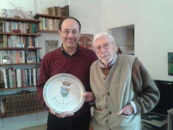 Con Giuseppe Bufalari a Firenze.