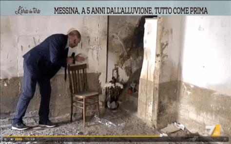 Antonio Condorelli giornalista La7 Giampilieri1