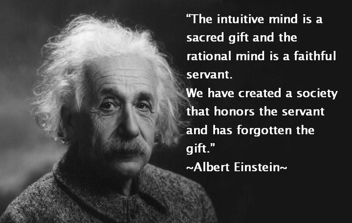 einstein dono mente intuitiva