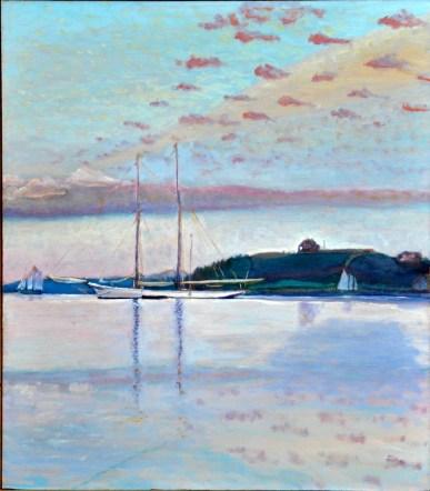 August Dawn, Maine Coast