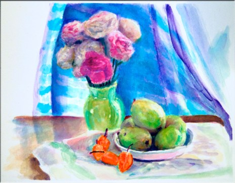 Carnations, Pears & Peppers
