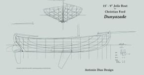 Dunyazade Lines Plan
