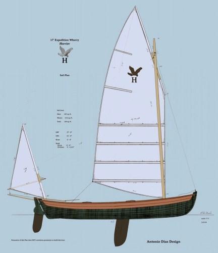 Harrier II Sail Plan