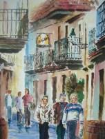 Calle de Bayona, 35x50, 50 €