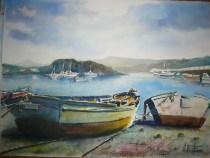 Puerto de Combarro III, 70x50 120 €