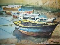 Puerto de Combarro IV, 70x50 120 €