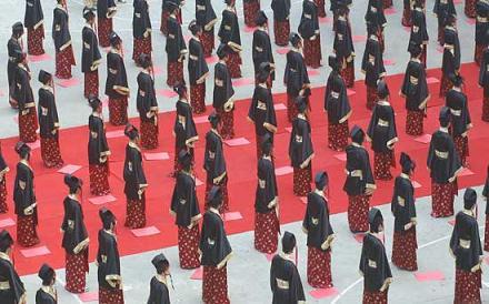Cina - Debutto in società