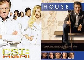 CSI Miami e Dr. House
