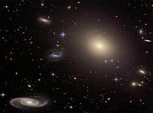 A 450 milioni di anni luce dallaTerra…