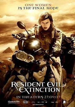 """""""Resident Evil:Extinction"""""""