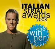 Italian Serial Awards 2008, ivincitori