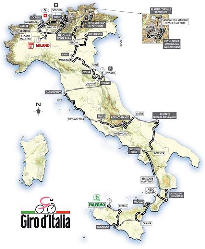 91° Giro d\'Italia