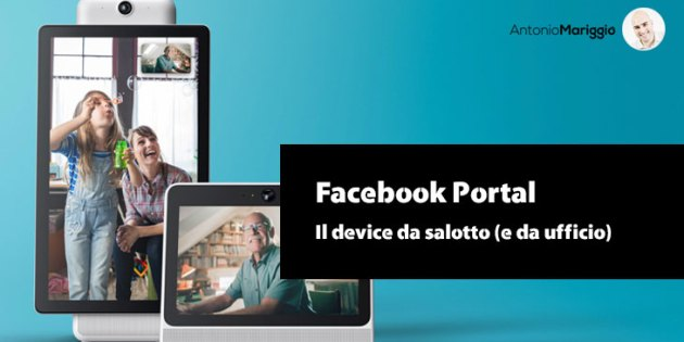Facebook Portal - Antonio Mariggiò