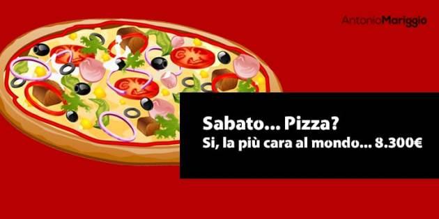 La Pizza più costosa al mondo