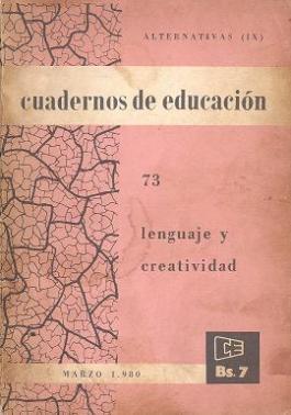 Lenguaje y creatividad