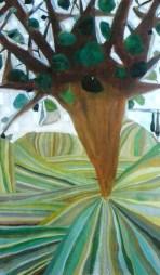 Árbol, óleo/lienzo