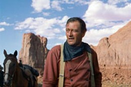 John Wayne in The Searchers (1956)