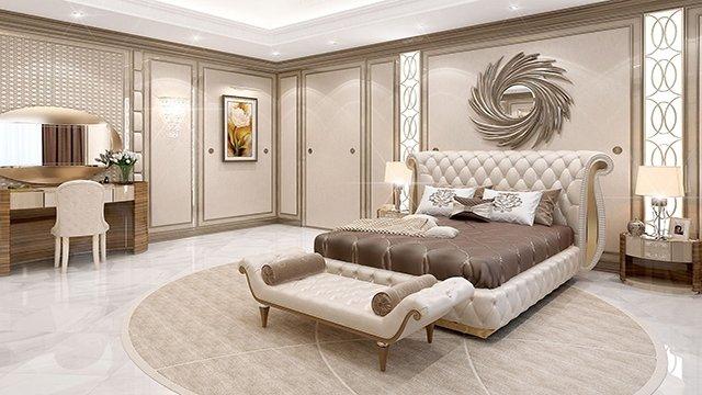 Admirable Master Bedroom Design In Dubai By Luxury