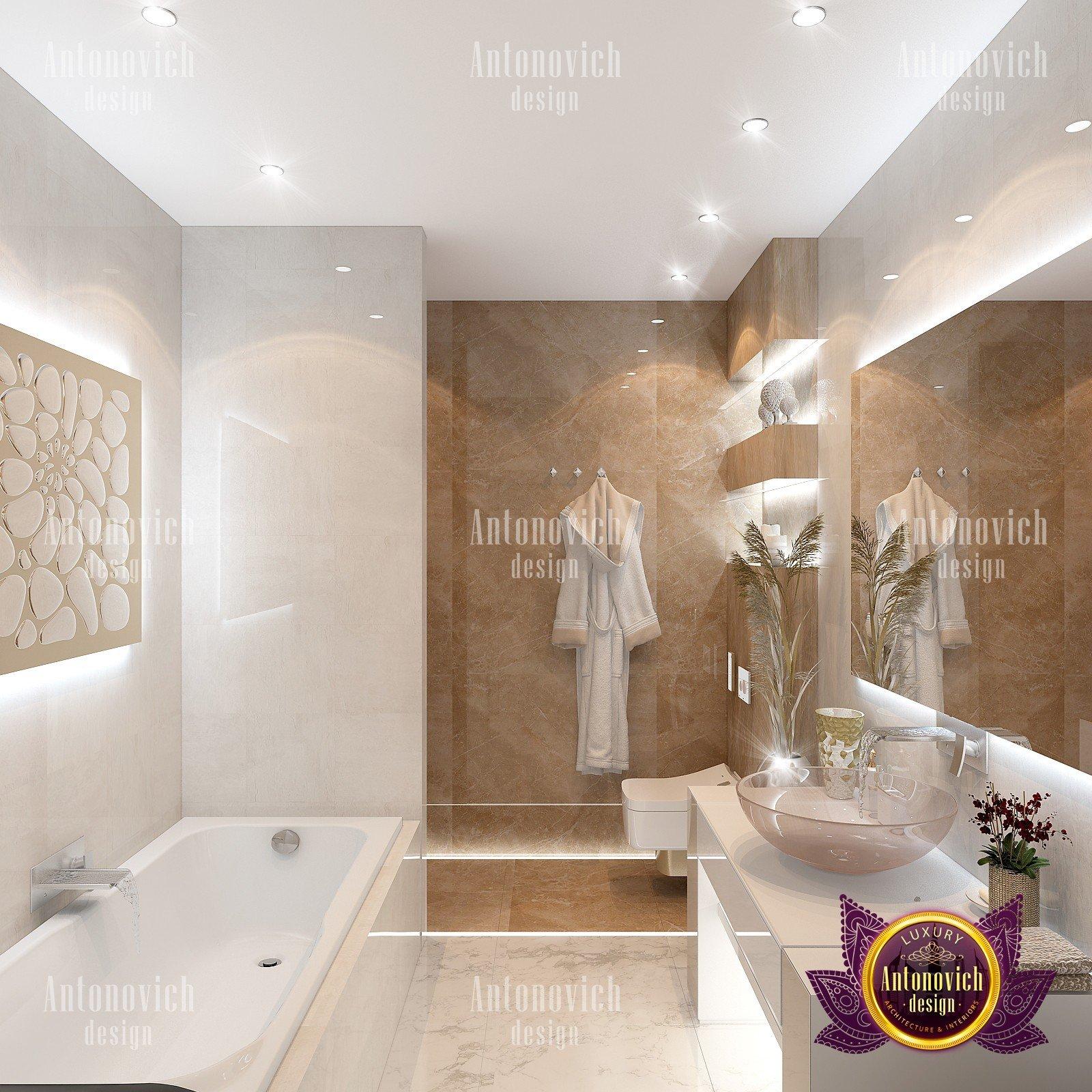 Luxury Bathroom Interior Design UAE
