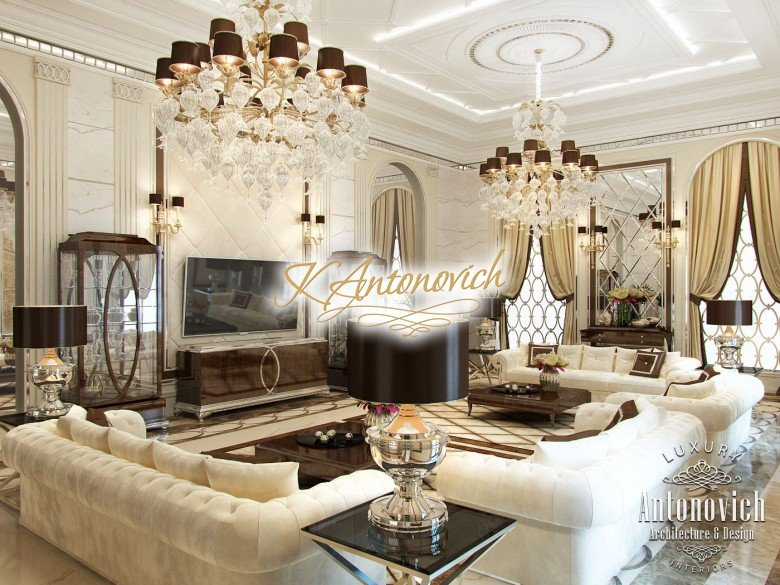Luxury Villa Interior Design In Dubai