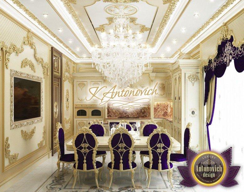 Luxury Interior Design Kitchen In Saudi Arabia