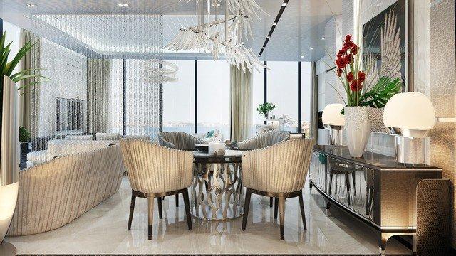 Luxurious Apartment Interior Design