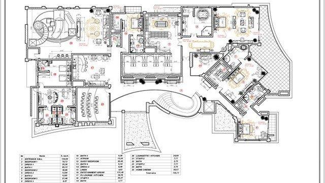 Bespoke Luxury House Plan In Dubai By Luxury Antonovich Design