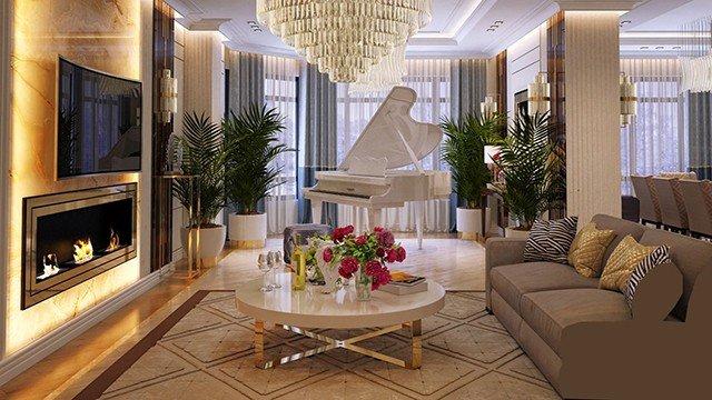 Bespoke Villa Interior Design in Dubai by Luxury ...