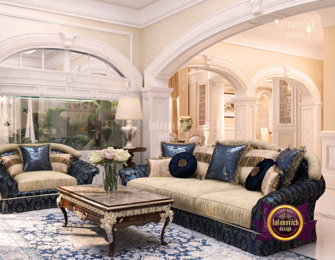 Interior design luxury villa in New York - luxury interior ...