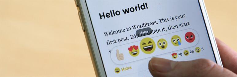 DW Reactions Pro WordPress Plugin in action