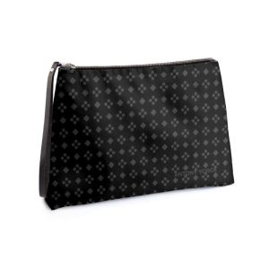 antony yorck business clutch tasche charlotte pattern print purple black white 135120 01