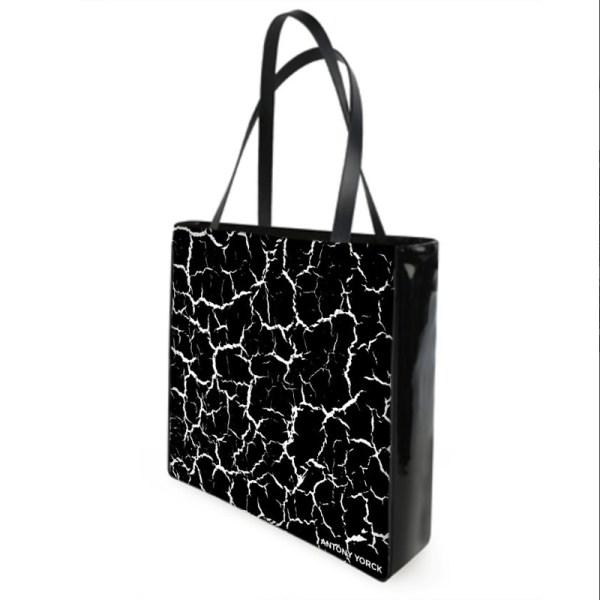 Antony Yorck Shoulder Bag mit Craqulee Muster Rueckseite 130992