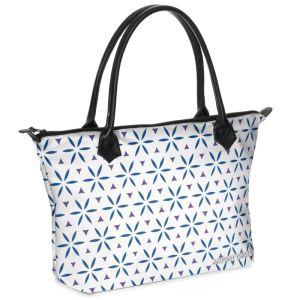 antony yorck shopper tasche vivalifa floral pattern print style purple blue white 141193 01