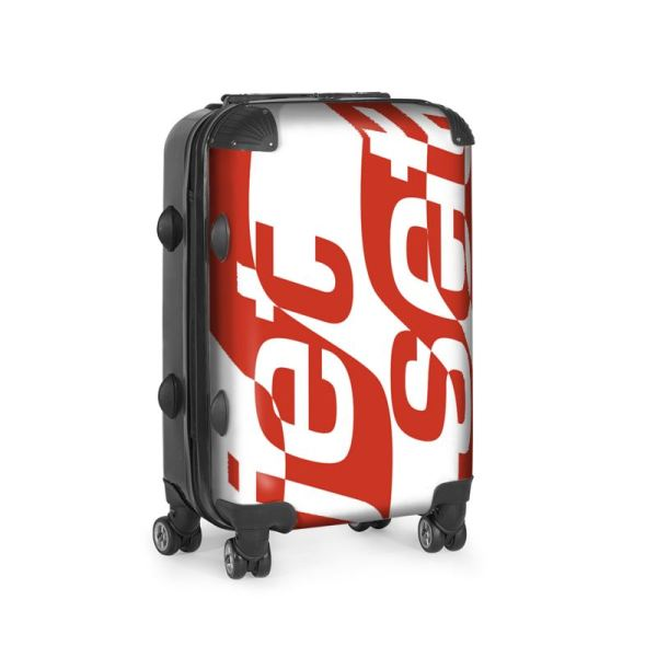 antony yorck trolley suitcase airplane hand luggage jet set red white black 144513 01