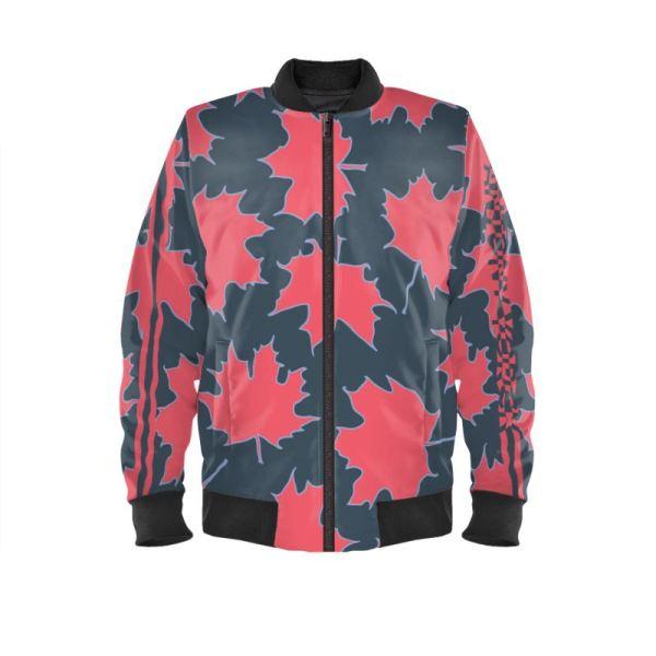 antony yorck blouson bomberjacke ml 005 maple leaf magenta blue grey black 161038 01