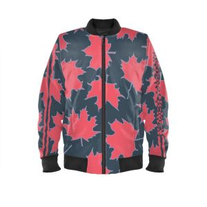 antony yorck blouson bomberjacke ml 005 maple leaf magenta blue grey black 161038 01