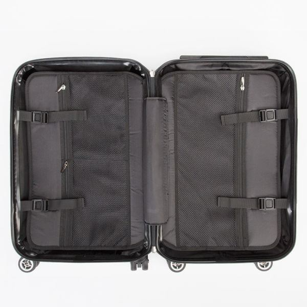 antony yorck trolley suitcase airplane hand luggage jet set series lock detail 07