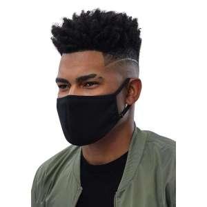 Antony Yorck Shop Angebot Mund-Nasen-Maske exklusiv schwarz im 3er-Pack Gesichtsmaske Mundschutz mit Biozid imprägniert Größe M Herren FMM11170514